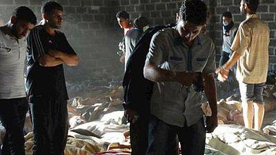 Entre par�ntesis - La Organizaci�n para la Prohibici�n de las Armas Qu�micas debate sobre su uso en la guerra de Siria - Escuchar ahora