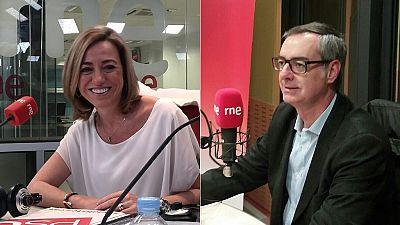Las mañanas de RNE - Entrevistas electorales: Carme Chacón (PSOE) y José Manuel Villegas (Ciudadanos) - Escuchar ahora
