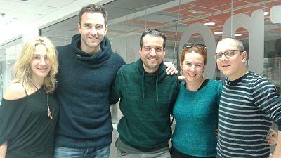 La Sala - Los Hermanos Karamazov y compañía y encuentro con María Pujalte y Guillem Clua - 12/12/15 - escuchar ahora