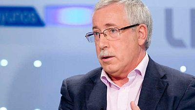 """Radio 5 Actualidad - Toxo: """"Una gran coalición entre el PP y el PSOE no sería una lectura adecuada del voto de los electores"""" - Escuchar ahora"""
