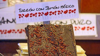 Entre paréntesis - Turrón de jamón y chocolate negro para esta Navidad - 24/12/15