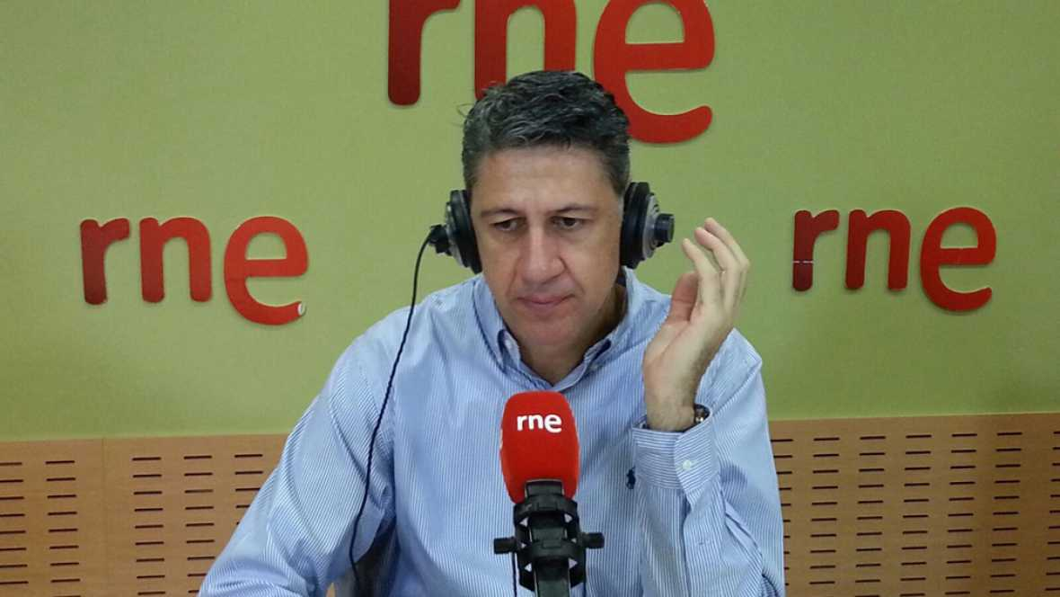 """Las mañanas de RNE - Xavier García Albiol acusa a Junts pel Sí y la CUP de hacer """"teatro"""" - Escuchar ahora"""