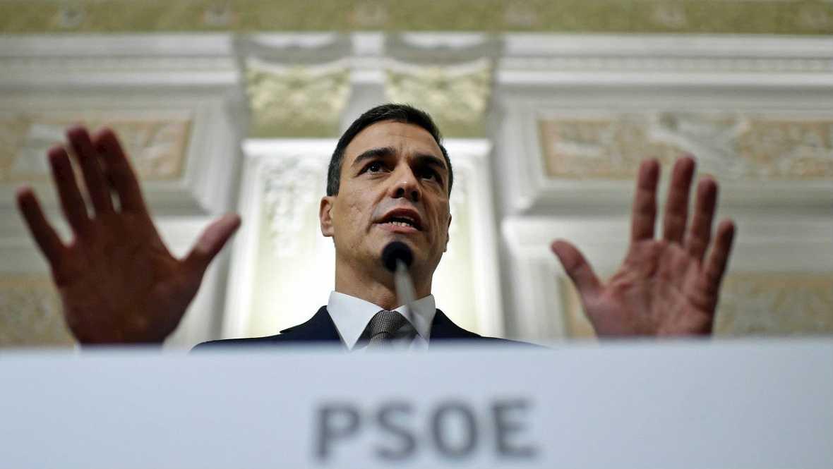El PSOE a favor de cuatro grupos en el Congreso vinculados a Podemos - Escuchar ahora