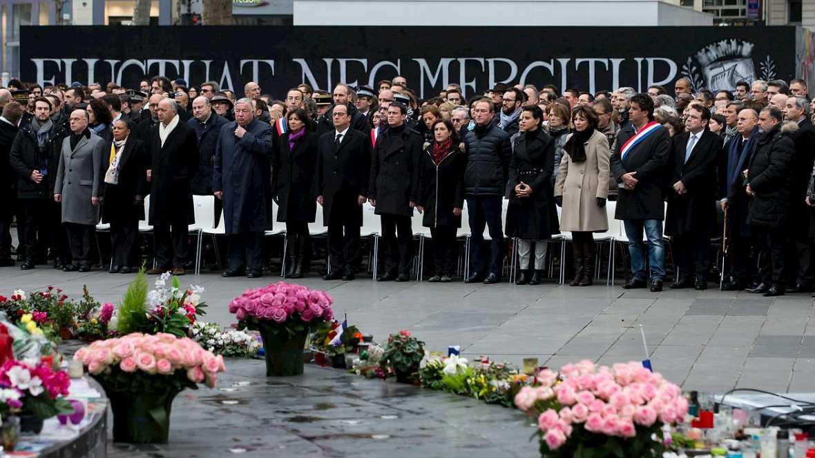 La autoridades francesas homenajean a las víctimasd de 2015 - Escuchar ahora