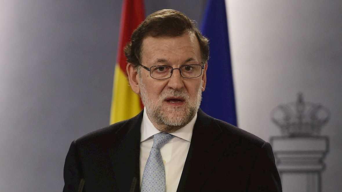 """Rajoy: """" Habrá respuesta si el Govern actúa contraviniendo la Constitución o la ley"""" - Escuchar ahora"""