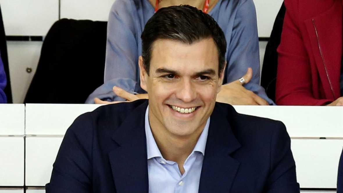 El nuevo escenario en Cataluña a análisis en la Ejecutiva del PSOE - Escuchar ahora