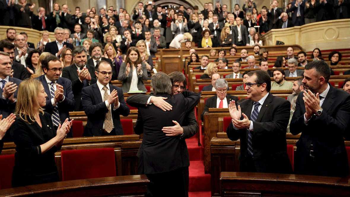 Carles Puigdemont un presidente para un proceso soberanista - Escuchar ahora