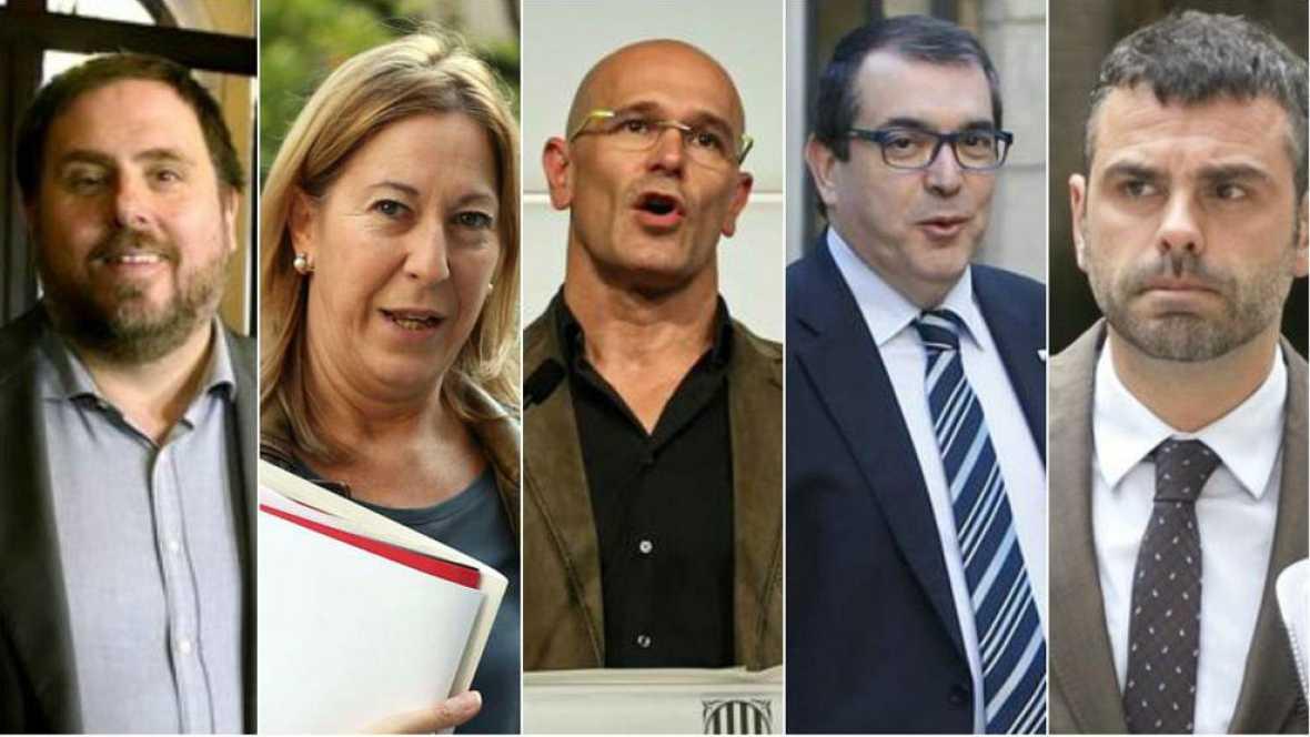 Los consejeros de más peso en el govern de Puigdemont - Escuchar ahora