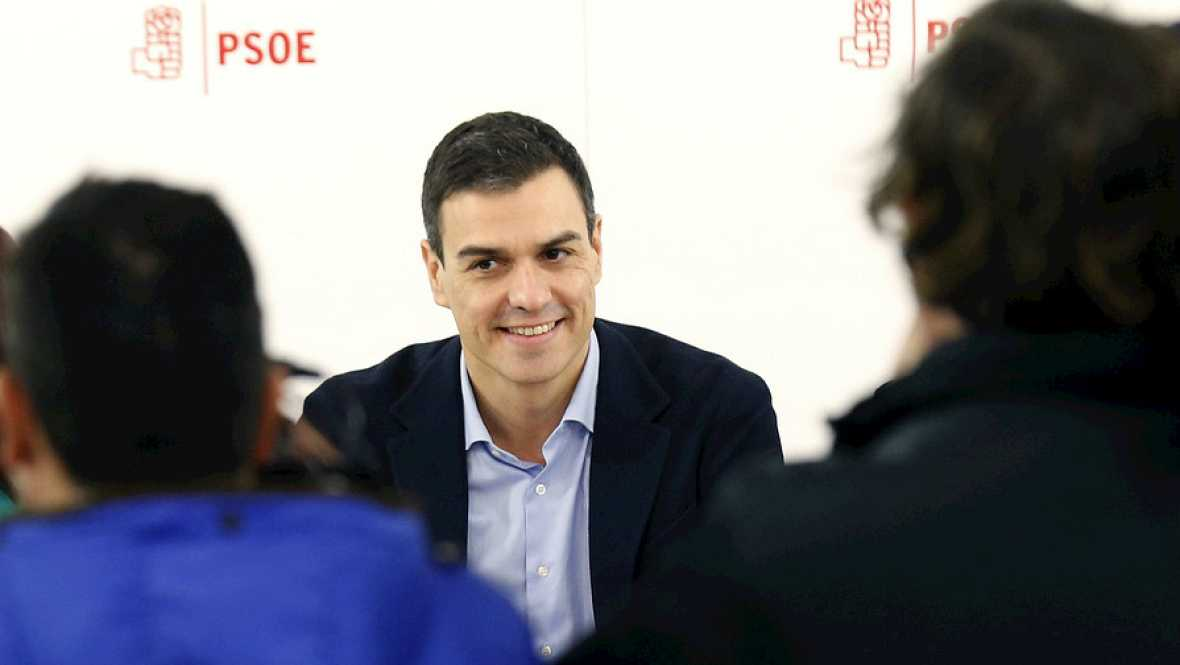 Boletines RNE - El PSOE mantiene su intención de formar ejecutivo - Escuchar ahora