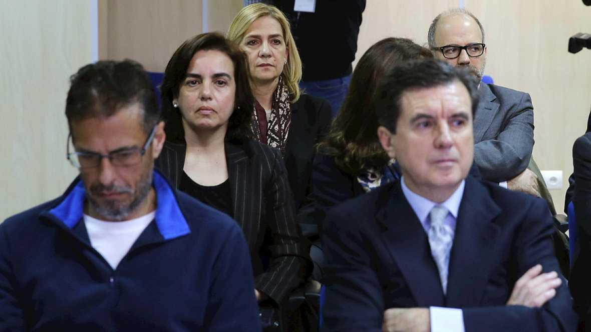 Diario de las 2 - El abogado de la infanta Cristina y la Fiscalía piden que no sea juzgada por el caso Nóos - Escuchar ahora