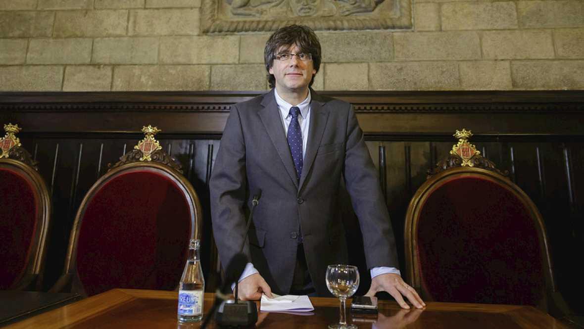 Diario de las 2 - Puigdemont tomará posesión este martes, tras comunicarse su nombramiento al rey - Escuchar ahora