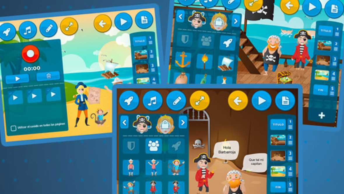 Marca España - Una app española para contar cuentos en el Bett 2016 - Escuchar ahora