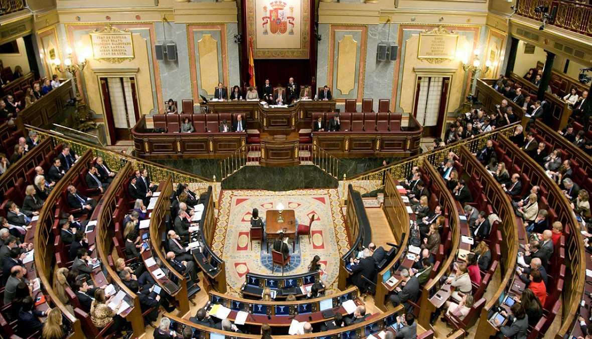 Las cuñas de RNE - Especial informativo constitución de las Cortes