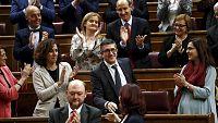Especial informativo constitución de las Cortes - Patxi López, elegido presidente del Congreso por mayoría simple - Escuchar ahora