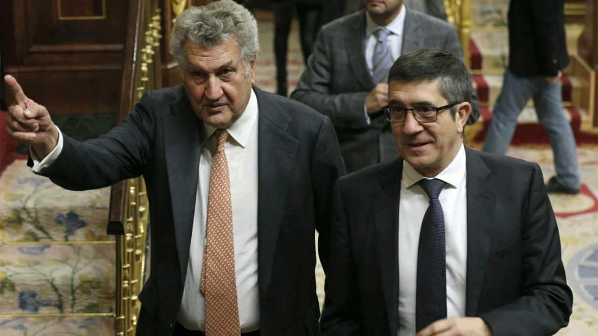 """Especial informativo constitución de las Cortes - Jesús Posada: """"Patxi López me tiene a su disposición"""""""