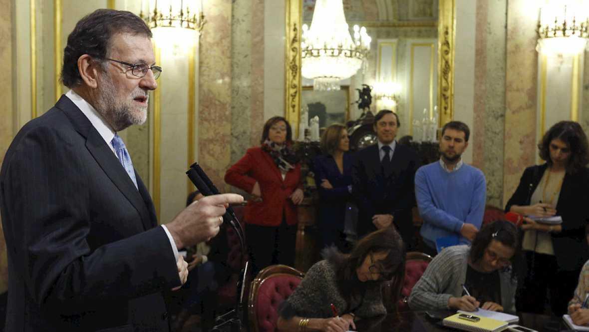 Radio 5 Actualidad - Rajoy impugnará la toma de posesión de Puigdemont si lo aconsejan los servicios jurídicos - Escuchar ahora