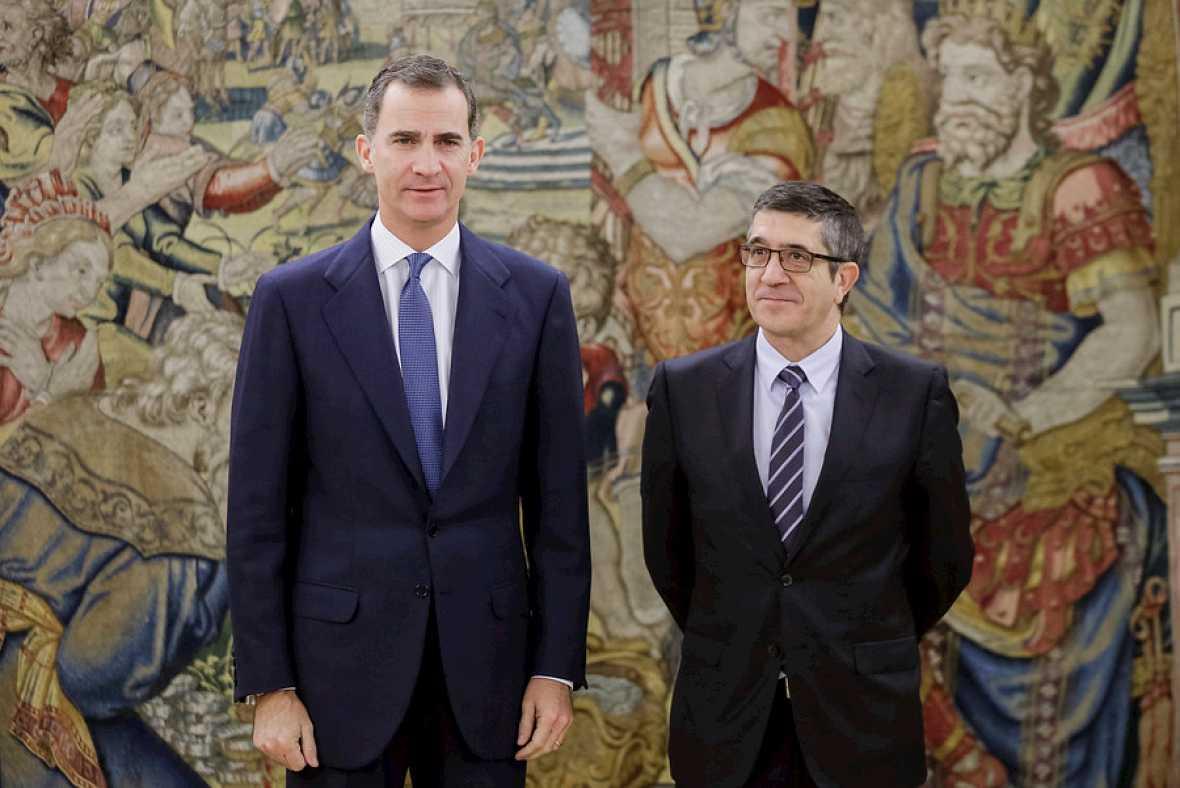 Boletines RNE - Felipe VI recibe a Patxi López, nuevo presidente del Congreso - Escuchar ahora