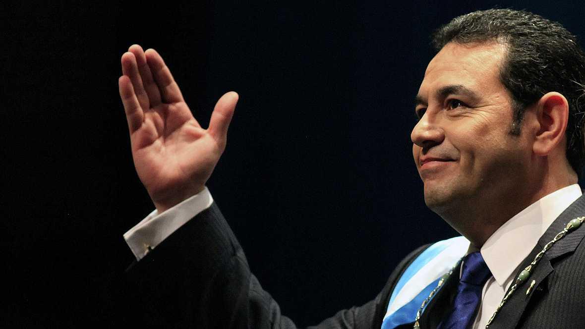 América hoy - Jimmy Morales, nuevo presidente de Guatemala - 14/01/16 - Escuchar ahora