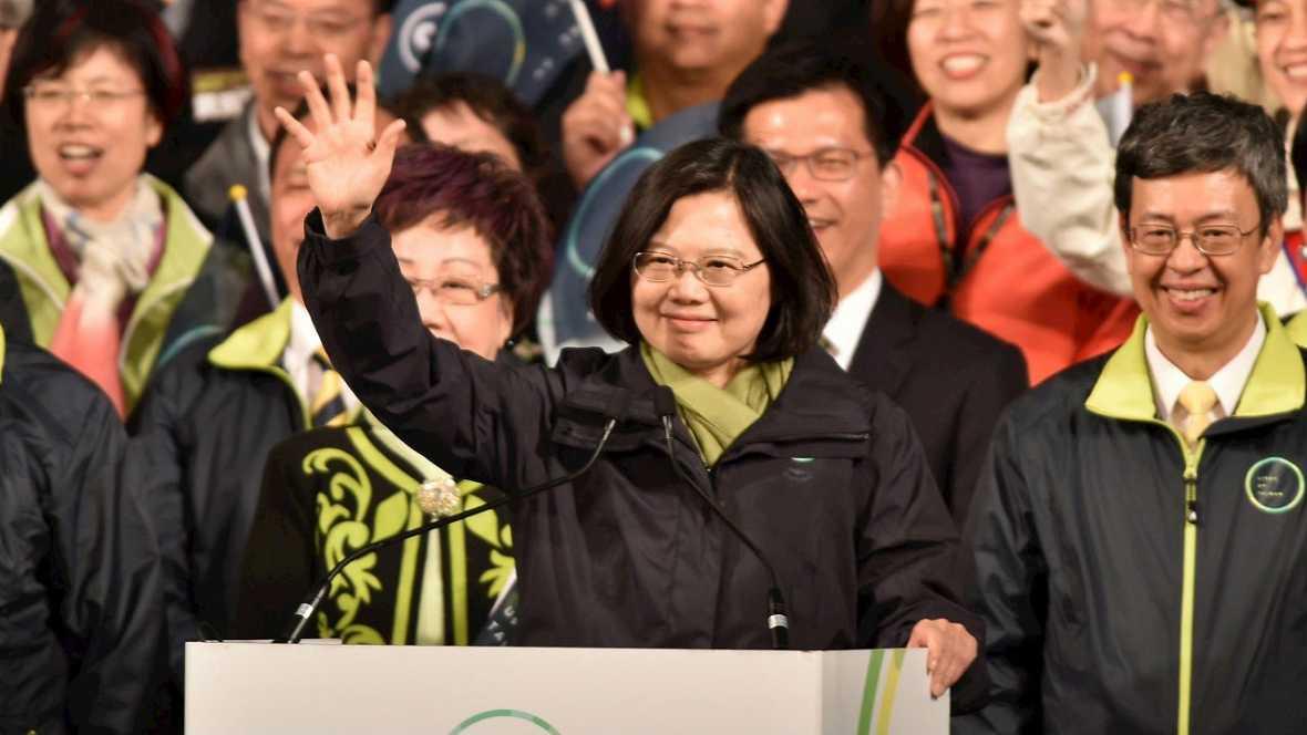 La independentista Tsai Ing-wen la primera presidenta de Taiwán - Escuchar ahora