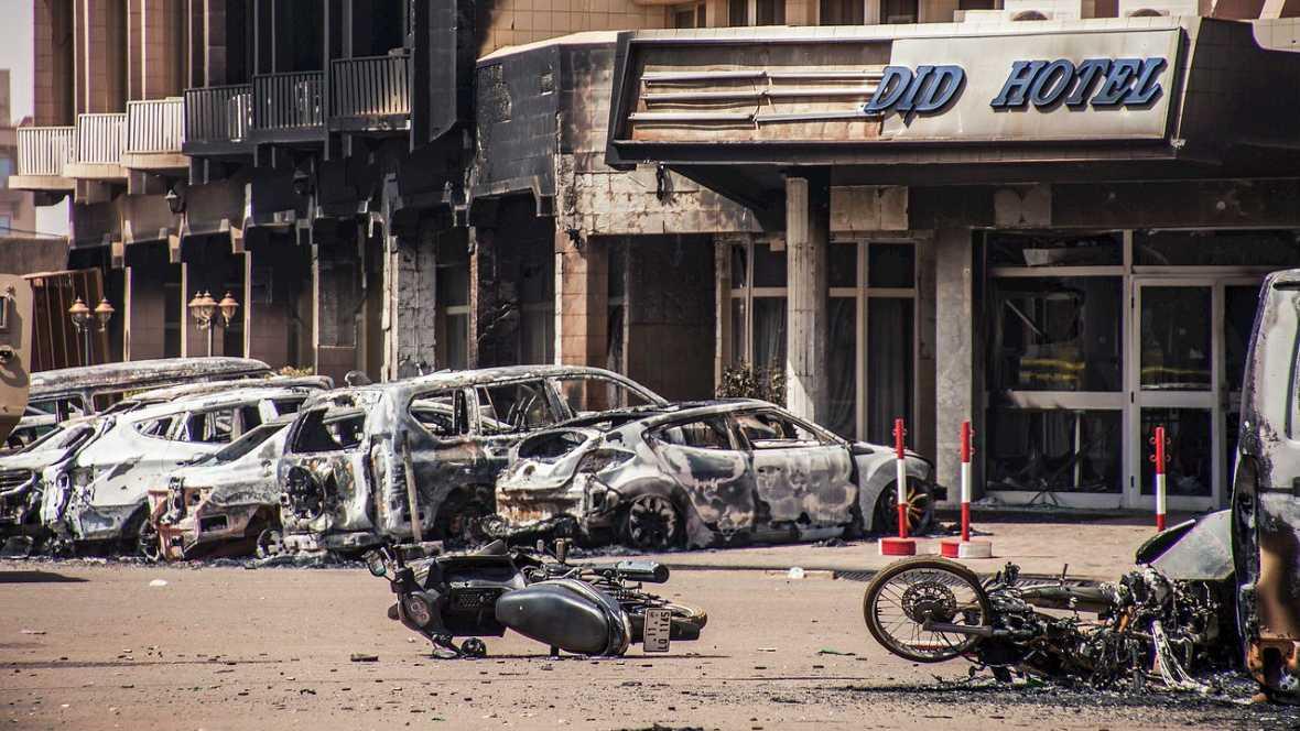 Fin al asalto del hotel Splendid en Burkina Faso con un balance de 26 muertos - Escuchar ahora
