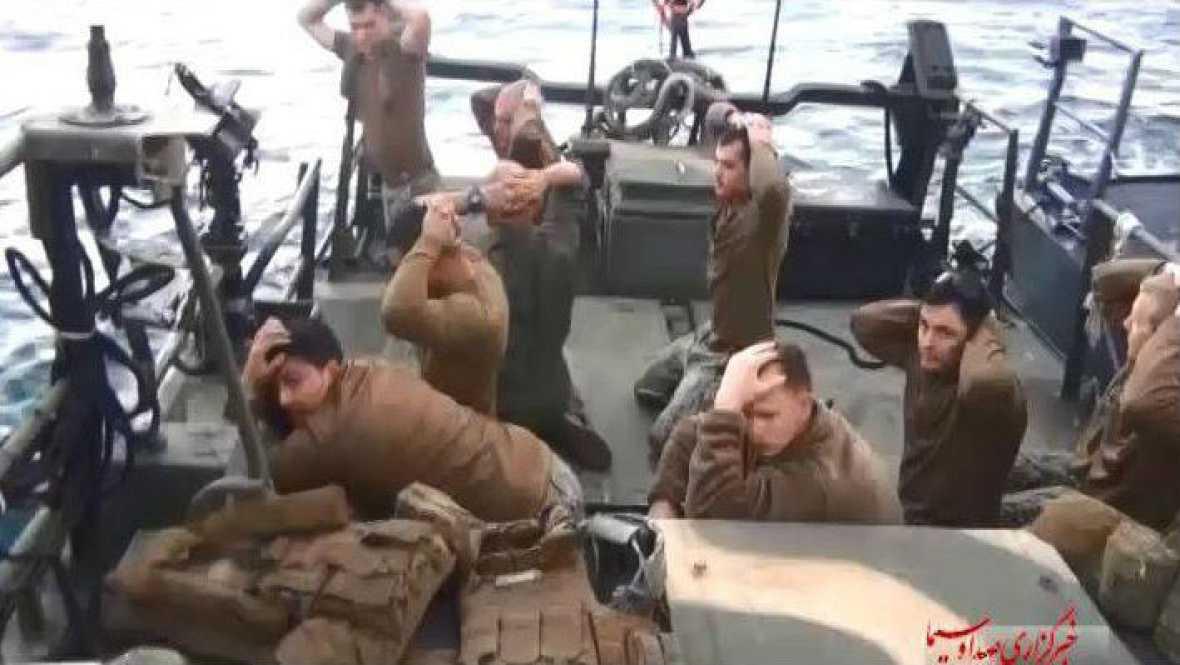 Boletines RNE - Intercambio de prisioneros entre USA - Irán antes de que entre en vigor el acuerdo nuclear - Escuchar ahora