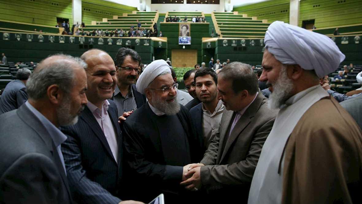 Informativos fin de semana - 14 horas - Rohani afirma que el acuerdo es una página dorada en la historia de Irán - Escuchar ahora
