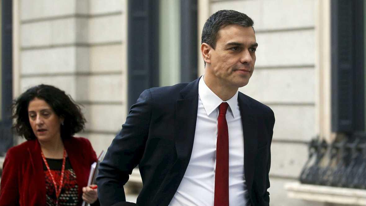 """Informativos fin de semana - 14 horas - Sánchez: """"Rajoy es el """"Red Bull"""" de los independentistas porque les da alas"""" - Escuchar ahora"""