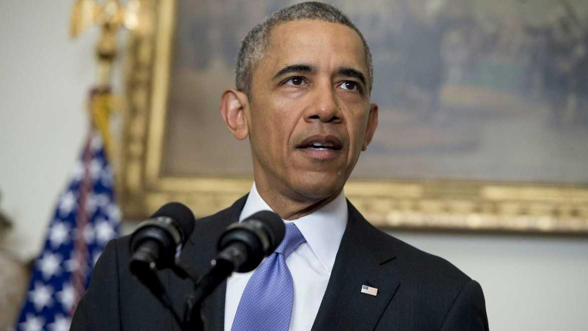 Informativos fin de semana - 20 horas - Obama saluda el acuerdo y advierte a Irán sobre apoyo al terrorismo - Escuchar ahora