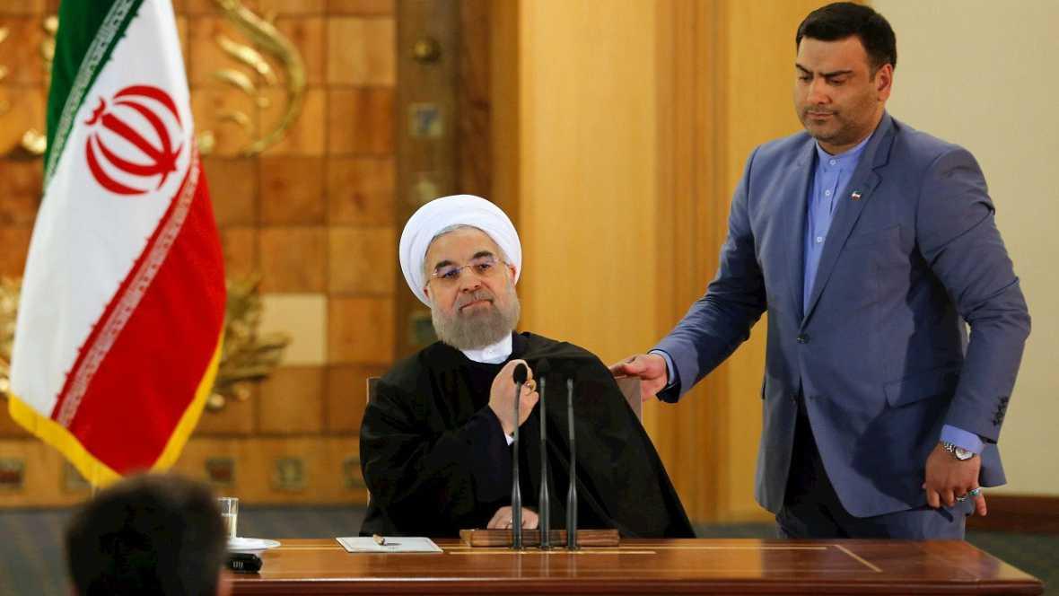 """Informativos fin de semana - 20 horas - Rohani : El acuerdo es una """"victoria política de la diplomacia y de Irán"""" - Escuchar ahora"""