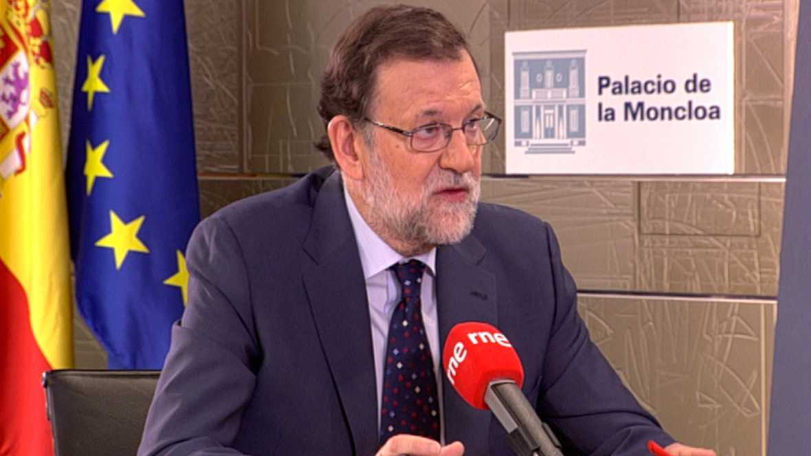 "Radio 5 Actualidad -  Rajoy acusa a Sánchez de querer gobernar con ""rupturistas"" - Escuchar ahora"