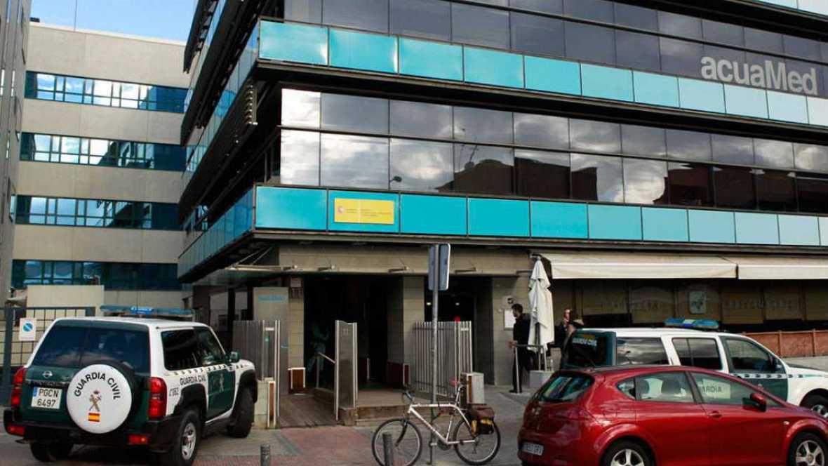 Radio 5 Actualidad -  La Guardia Civil registra la sede de la empresa pública Acuamed - 18/01/16 - Escuchar ahora