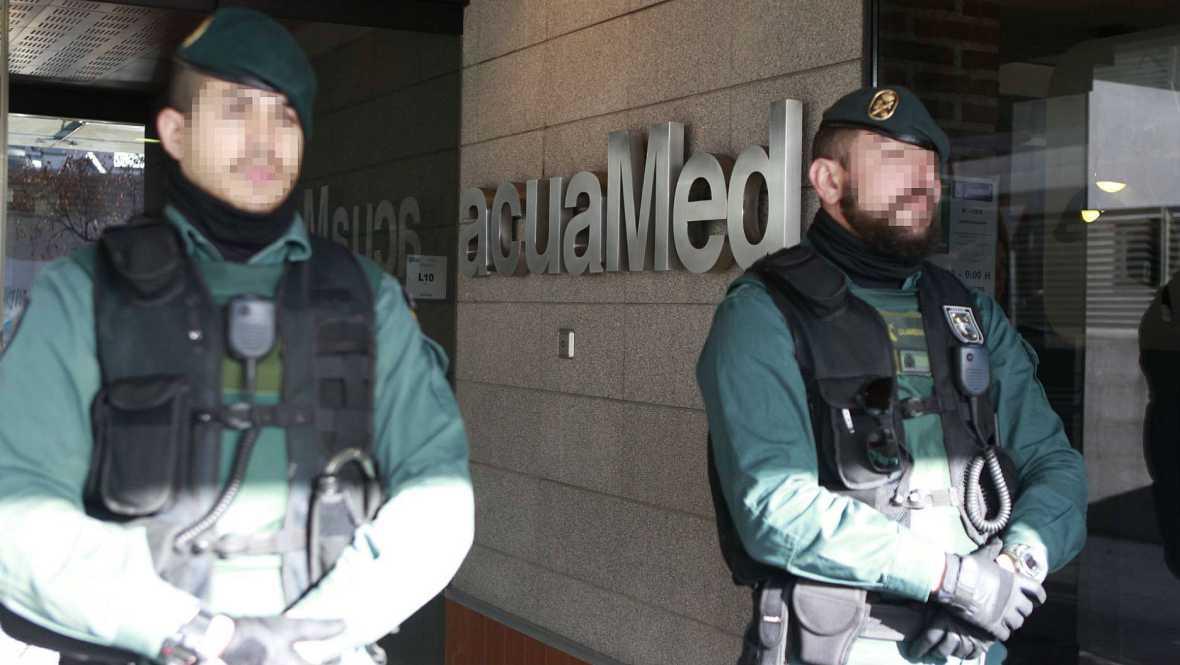 Diario de las 2 - Operación de la Guardia Civil en la sede de la empresa estatal acuaMed - Escuchar ahora