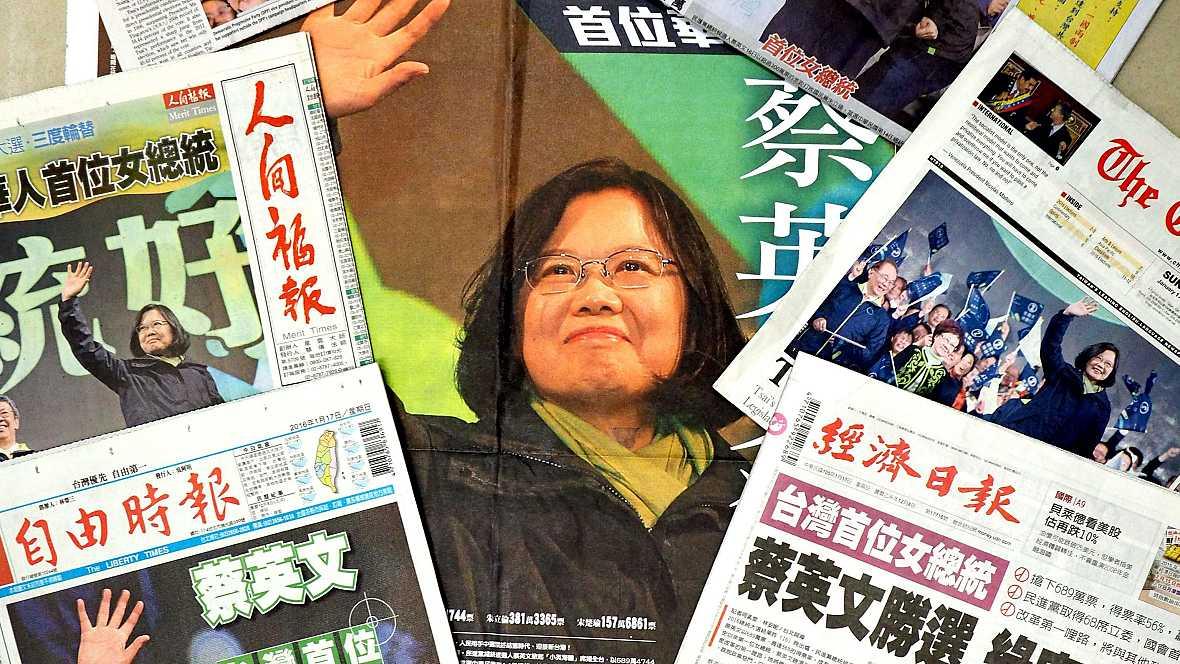 Asia hoy - Tsai Ing-Wen, primera presidenta de Taiwán - 18/01/16 - Escuchar ahora