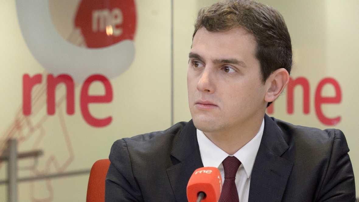 """Las mañanas de RNE - Albert Rivera: """"Pedro Sánchez intenta sumar escaños de cualquier manera"""" - Escuchar ahora"""