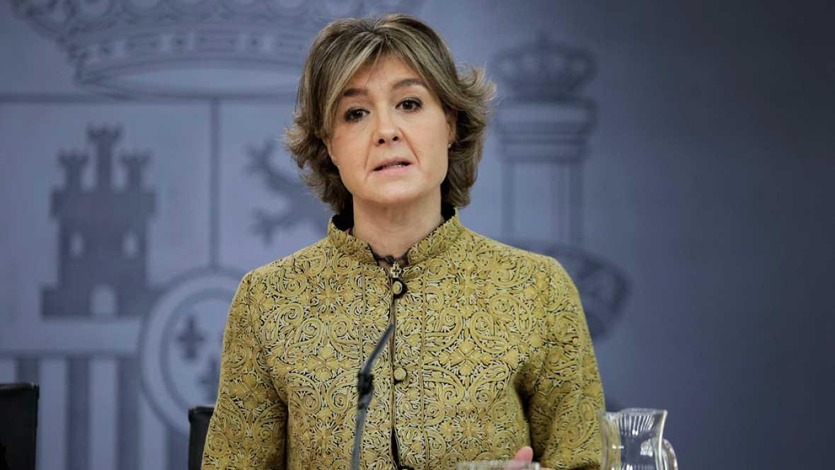 """24 horas - Isabel García Tejerina (PP): """"Revisaremos todas las contrataciones realizadas por Acuamed"""" - 21/01/16 - Escuchar ahora"""