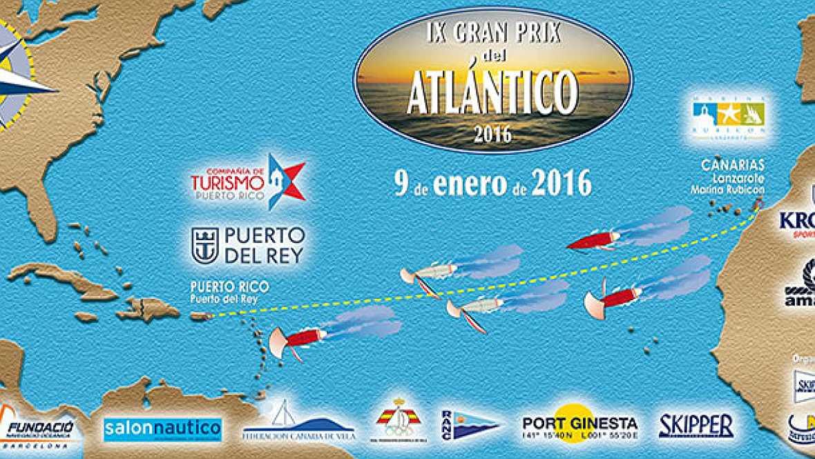 Españoles en la mar en Radio 5 - Gran Prix del Atlántico, la única regata oceánica española - 22/01/16 - Escuchar ahora