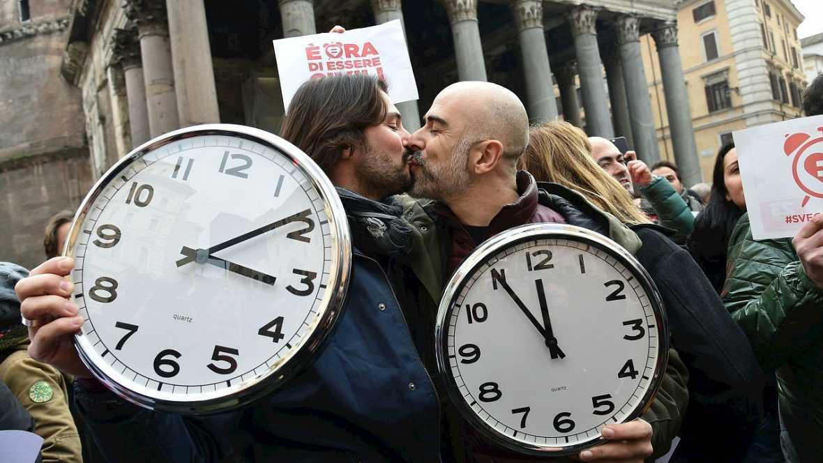 """""""Despiértate Italia"""" un lema para las uniones homosexuales - Escuchar ahora"""