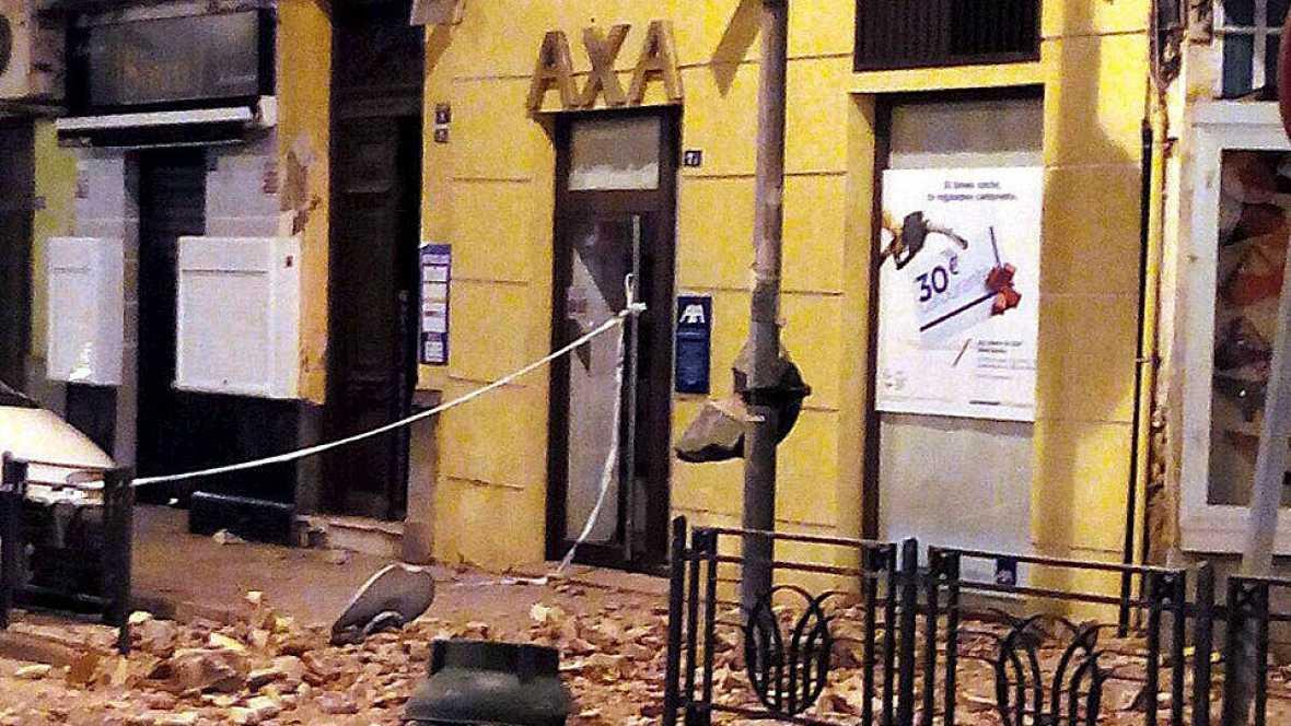 Boletines RNE - 15 personas heridas leves tras el terremoto registrado en Melilla - 25/01/16 - Escuchar ahora