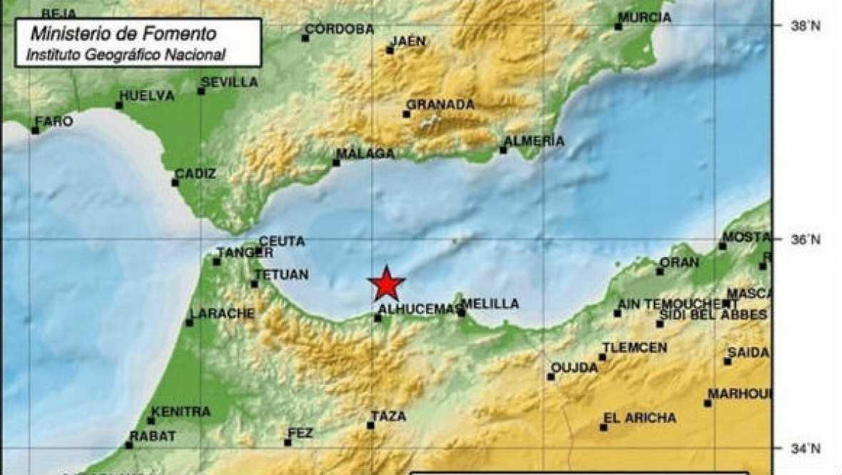 Diario de las 2 - El científico Miguel ángel Rodríguez nos habla del terremoto de Melilla - Escuchar ahora