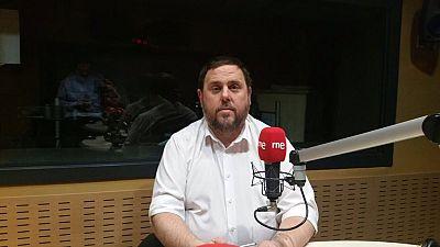 """24 horas - Oriol Junqueras (ERC): """"Somos independentistas en relación a España, pero federalistas europeos"""" - 26/01/16 - Escuchar ahora"""