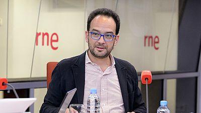 Las mañanas de RNE - Antonio Hernando mete presión a C's a cuenta de los casos de corrupción en el PP - Escuchar ahora