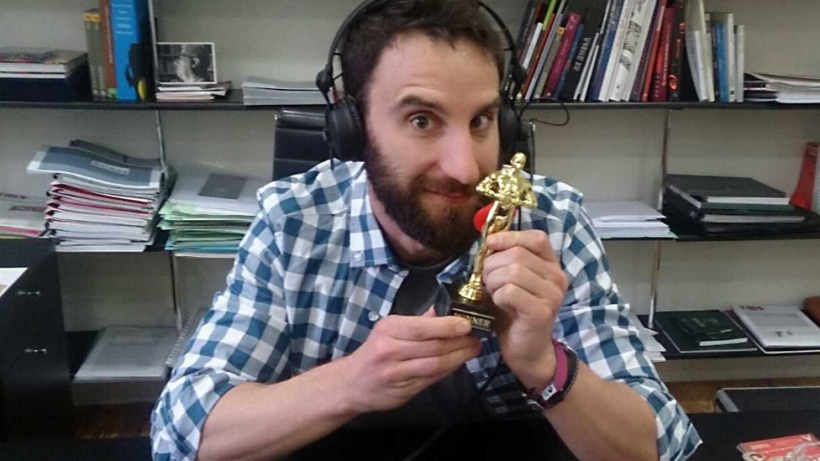 """Dani Rovira: """"Que asistieran los reyes a los Goya sería un puntazo"""""""