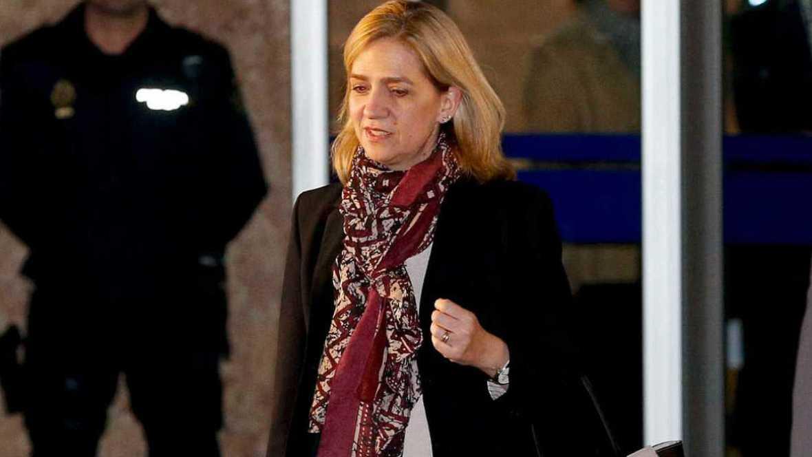 Diario de las 2 - La infanta Cristina seguirá en el banquillo de los acusados del 'caso Nóos' - Escuchar ahora