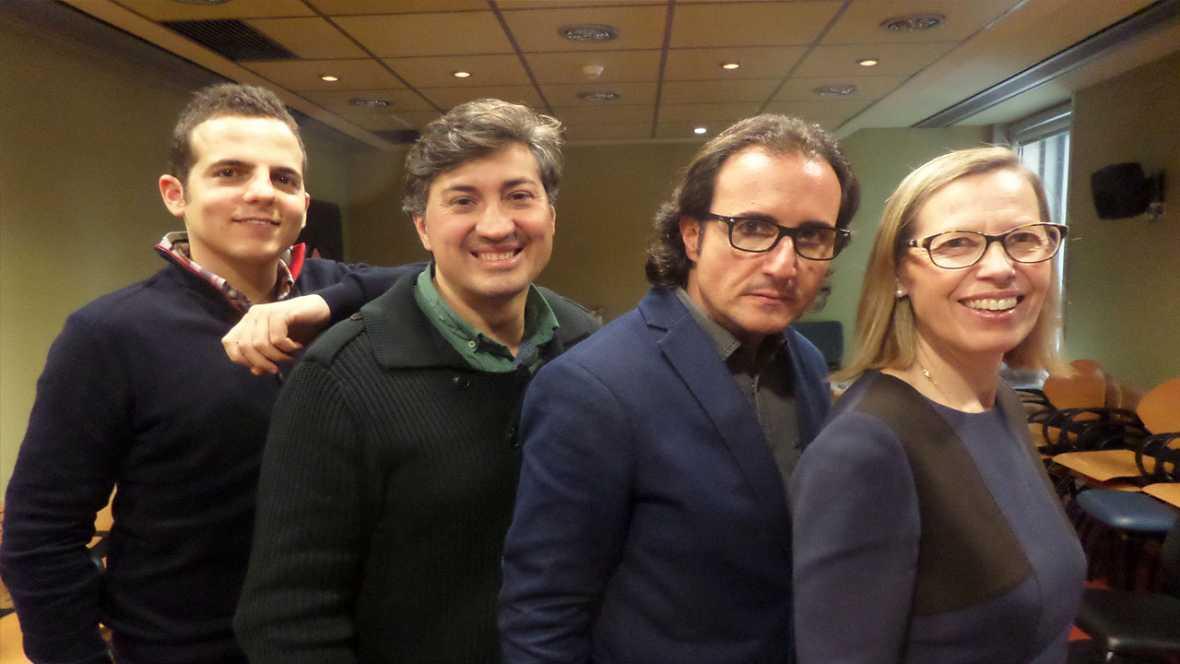 Club 21 - Amb Cristina Colomer, Sergi Carmona i Fernando Benito