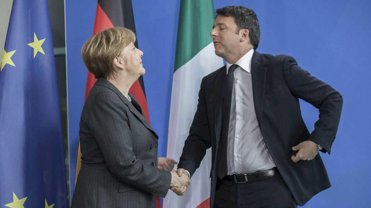 Merkel: si hay éxito en Ginebra los refugiados abandonarán Europa - Escuchar ahora