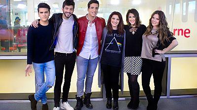 Las mañanas de RNE - Los seis aspirantes a Eurovisión 2016 visitan 'Las mañanas de RNE' antes de 'Objetivo Eurovison'