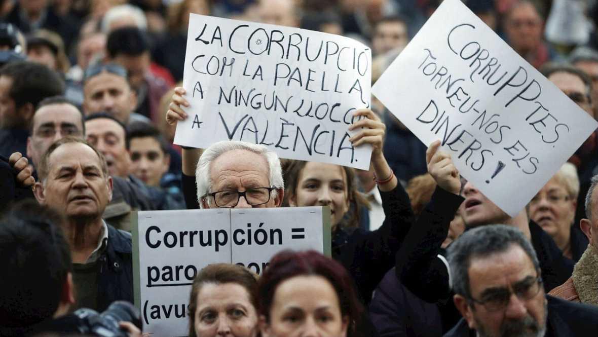 Manifestación en Valencia contra la corrupción - Escuchar ahora