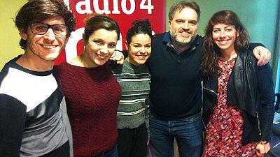 El matí a Ràdio 4 - Daniel Meyer, Cristina Arenas i Georgina Latre ens venen a presentar 'Fusells'