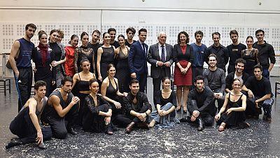 Marca Espa�a - Convenio de colaboraci�n entre la Marca Espa�a y el Ballet Nacional para poner en valor la danza espa�ola en el extranjero - 12/02/16 - escuchar ahora