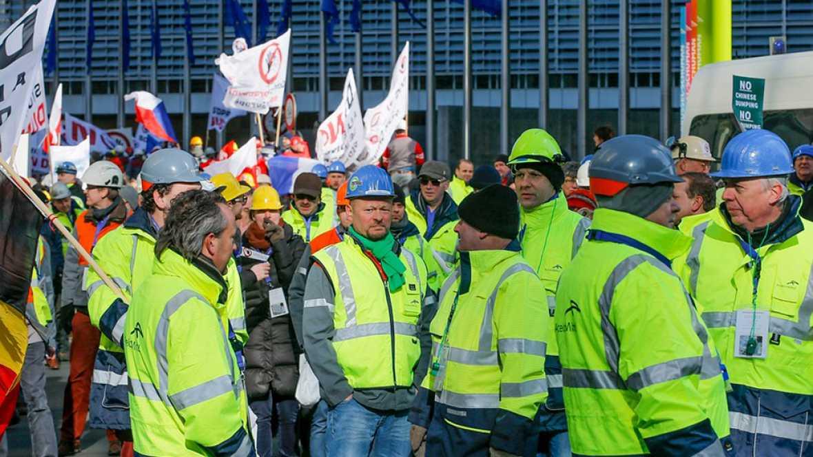 España vuelta y vuelta - El conflicto del acero, a examen - Escuchar ahora